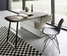 Hochwertige Livitalia Ecletto Design Kommode mit Schminktisch schwenkbar
