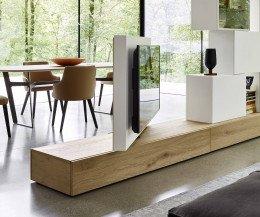 Modernes drehbares Fernseher Design Paneel Wohnzimmer Küche Raumteiler