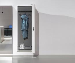 Kristalia BoxOne Spiegel mit Garderobe