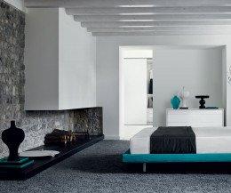 Livitalia EASY Design Bank für das Schlafzimmer