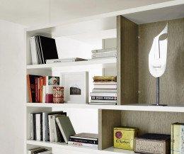 Modernes Livitalia Design Bücherregal C87