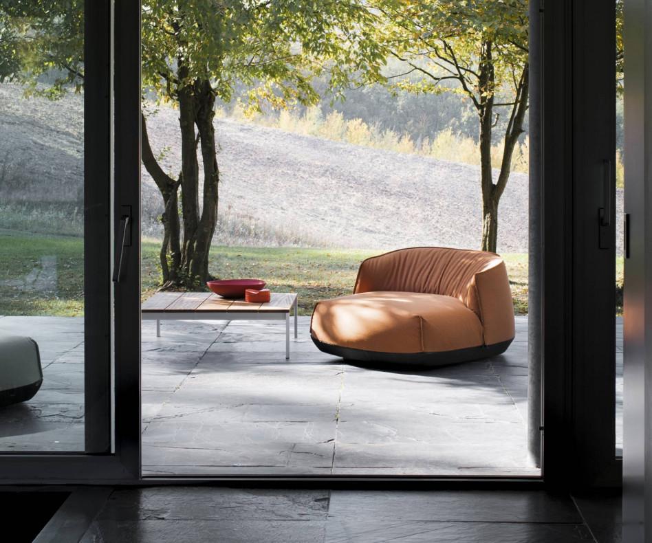 Kristalia Brioni Outdoor Sitzkissen Lounger