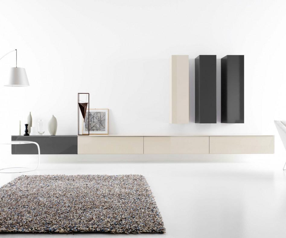 Exklusive Novamobili TV Design Wohnwand GD 222