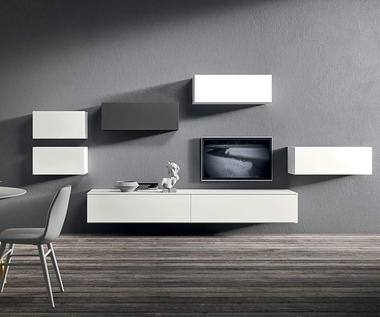 Elegant Design Hängeschrank Horizontal Flach U0026 Breit