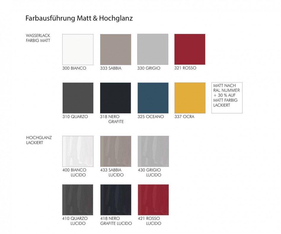 Novomobili Kleiderschrank Offset Schiebetueren