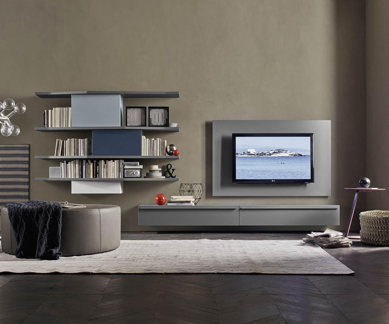 wohnwand design. Black Bedroom Furniture Sets. Home Design Ideas