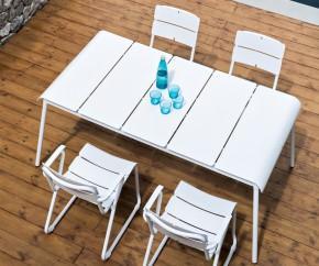 Wohnideen: Oasiq Corail Aluminium Gartentisch