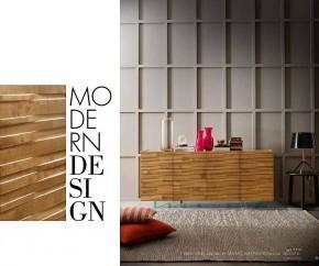 Wohnideen: FGF Mobili Massivholz Sideboard Waves