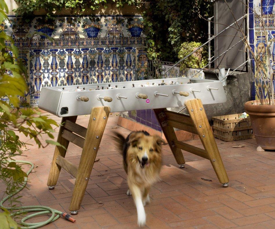 Exklusiver RS Barcelona RS#3 Holz Kicker Tisch