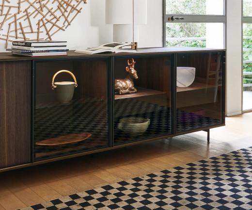 design sideboard shop hochglanz matt massivholz. Black Bedroom Furniture Sets. Home Design Ideas
