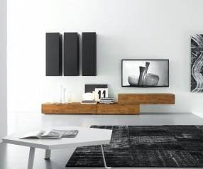 FGF Mobili Design Wohnwand C14B
