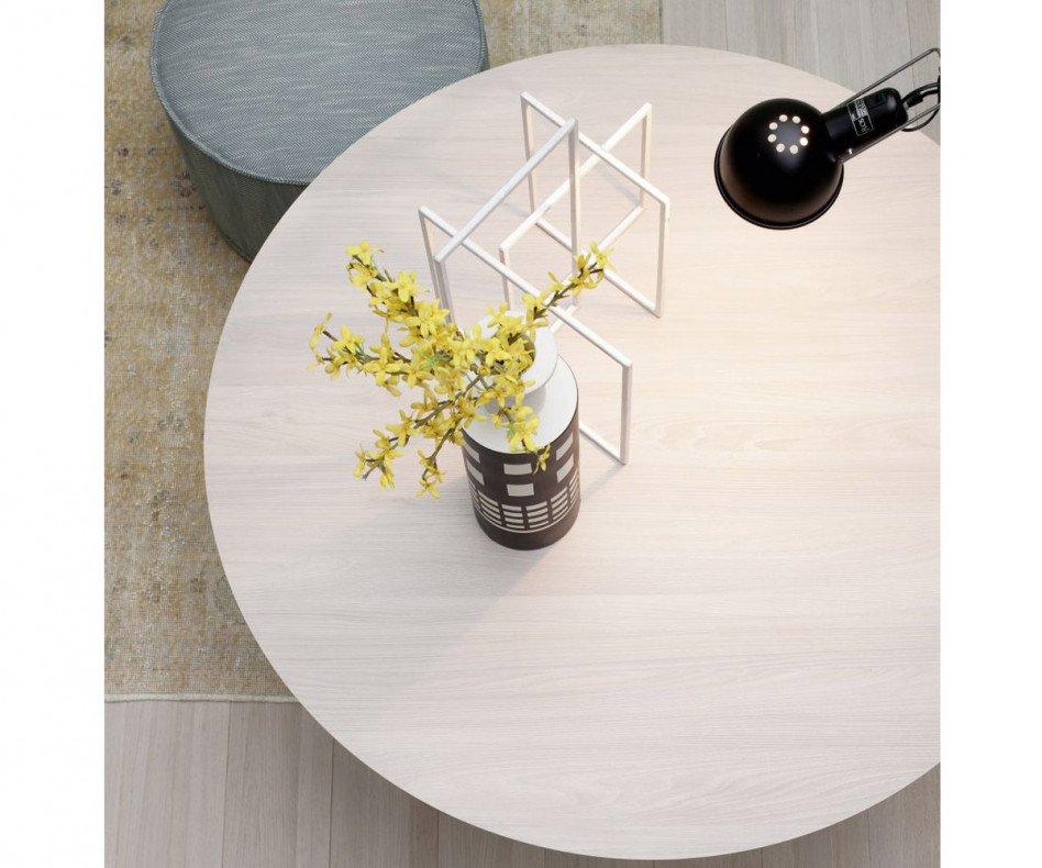 Novamobili Design Tisch Argos in Weiß Matt