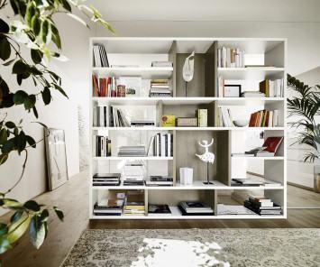 Livitalia Raumteiler Bücherregal C87