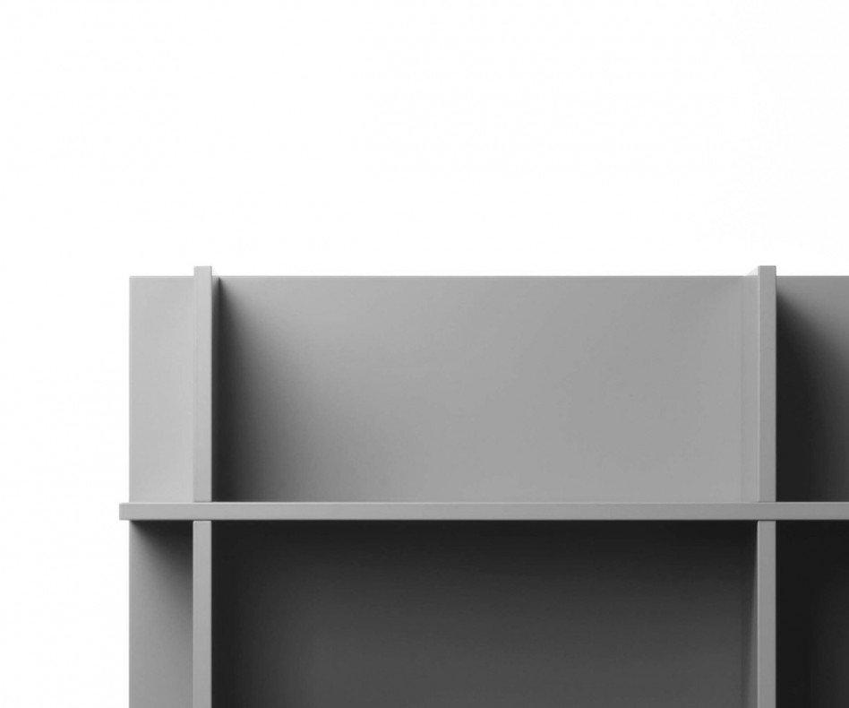 Novamobili Wandregal Slim 90 x 96 cm