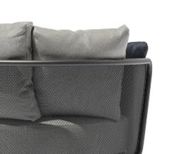 Todus Baza Designer Roundbed im Detail Rückseite