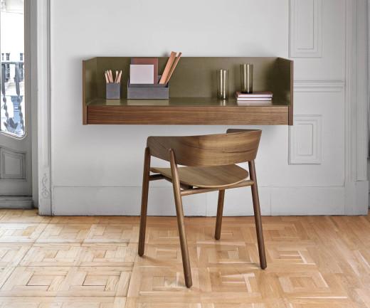 Exquisiter Punt Design Schreibtisch Stockholm Sekretär für die Wandmontage