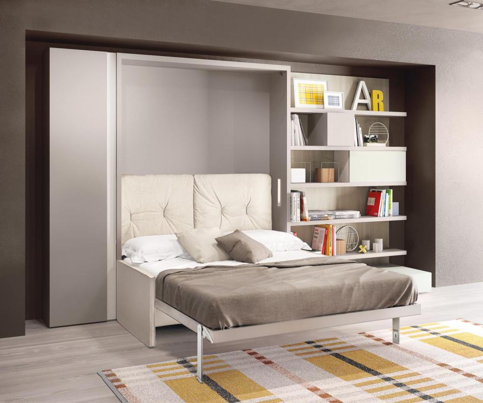 Exklusives Clei Penelope 2 Design Schrankbett mit Sofa