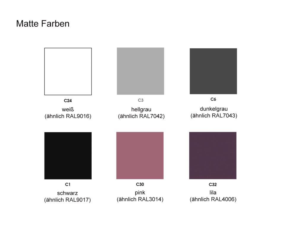 Modernes al2 Design Highboard e-klipse 009 in Pink