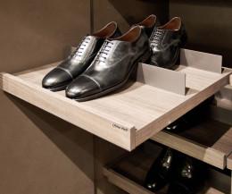 Exklusiver Livitalia Design Schuhschrank ausziehbarer Einlegeböden für Schuhe