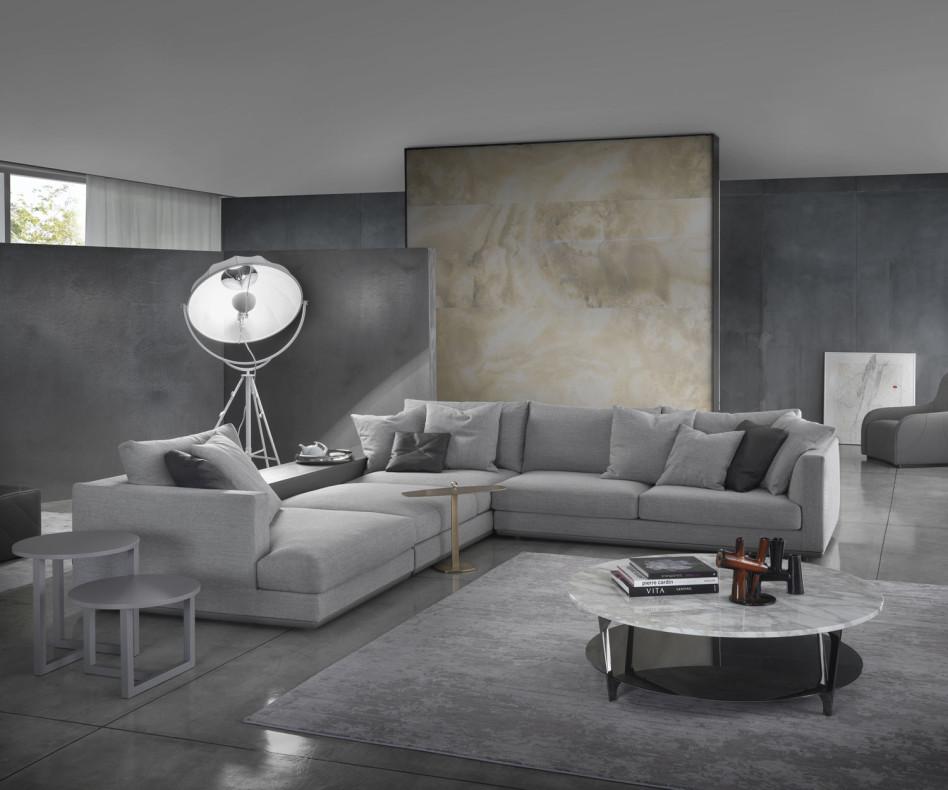Design Sofa Beistelltisch Marelli Leaf
