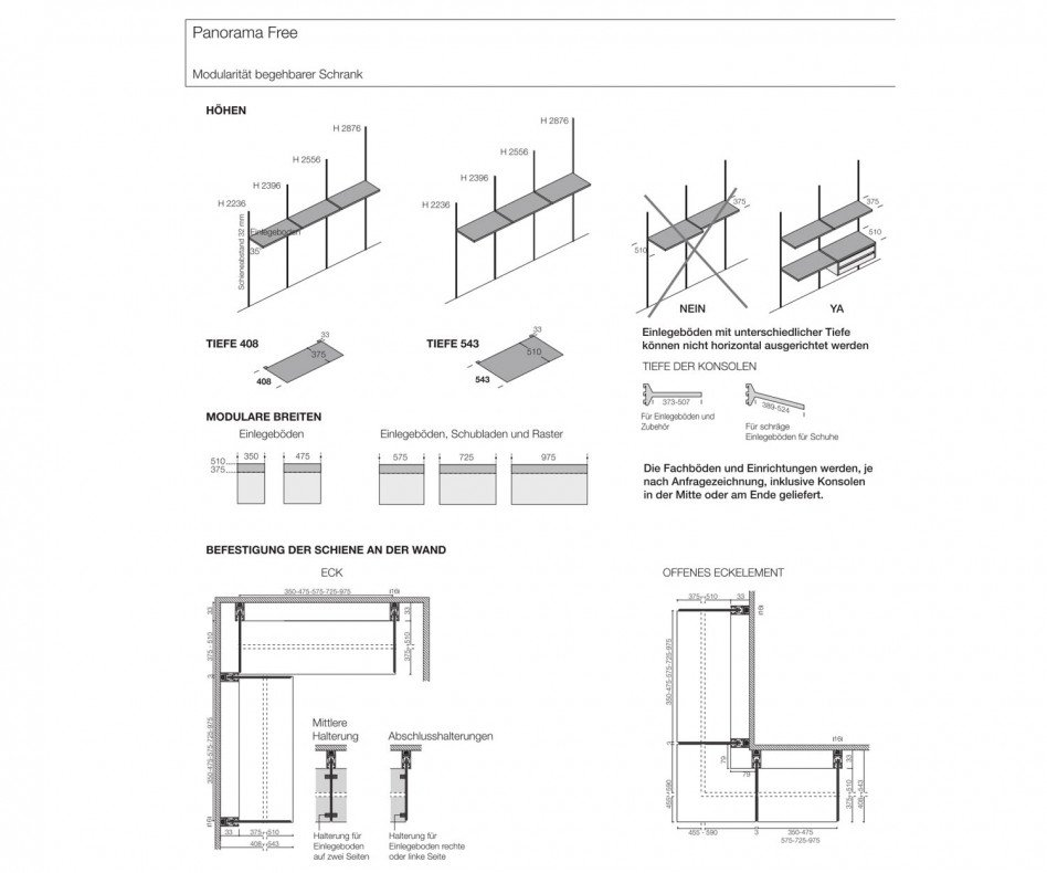 Livitalia Panorama Ankleidezimmer System
