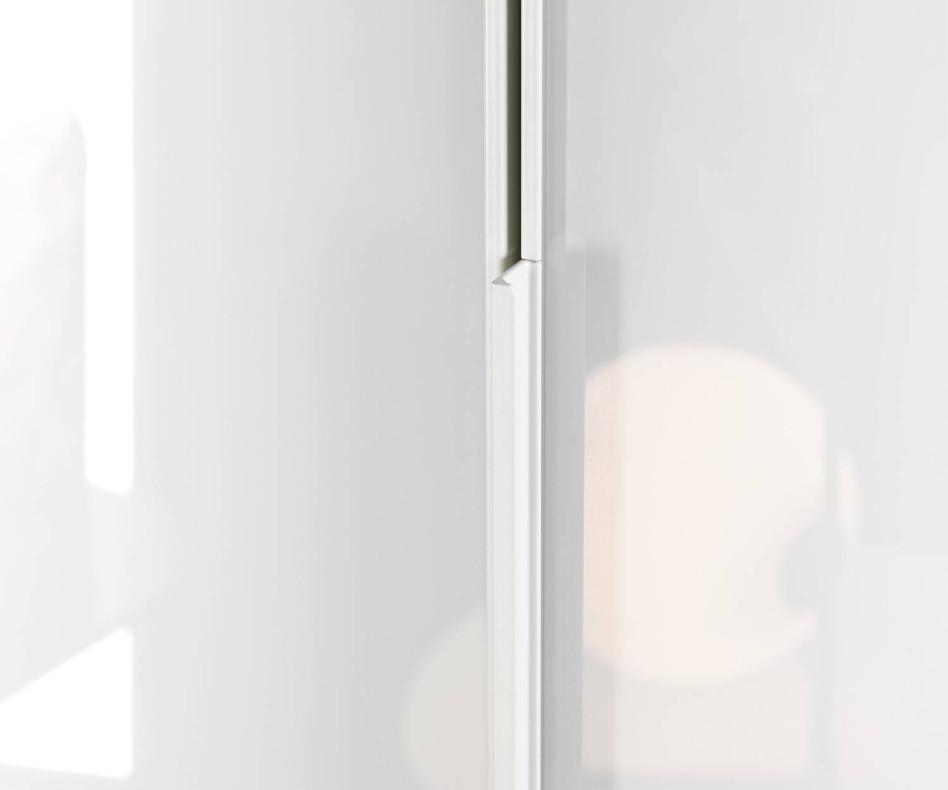 Novamobili Design Kleiderschrank Crystal mit Flügeltüren