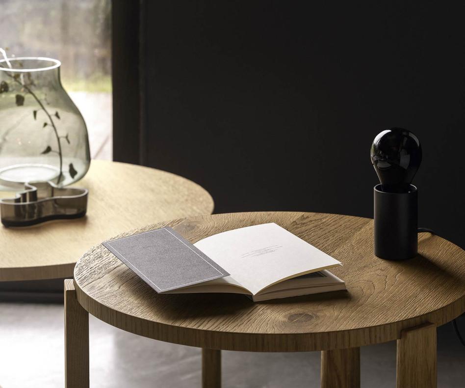 Exklusiver Livitalia Design Couchtisch Madeira Eiche Braun