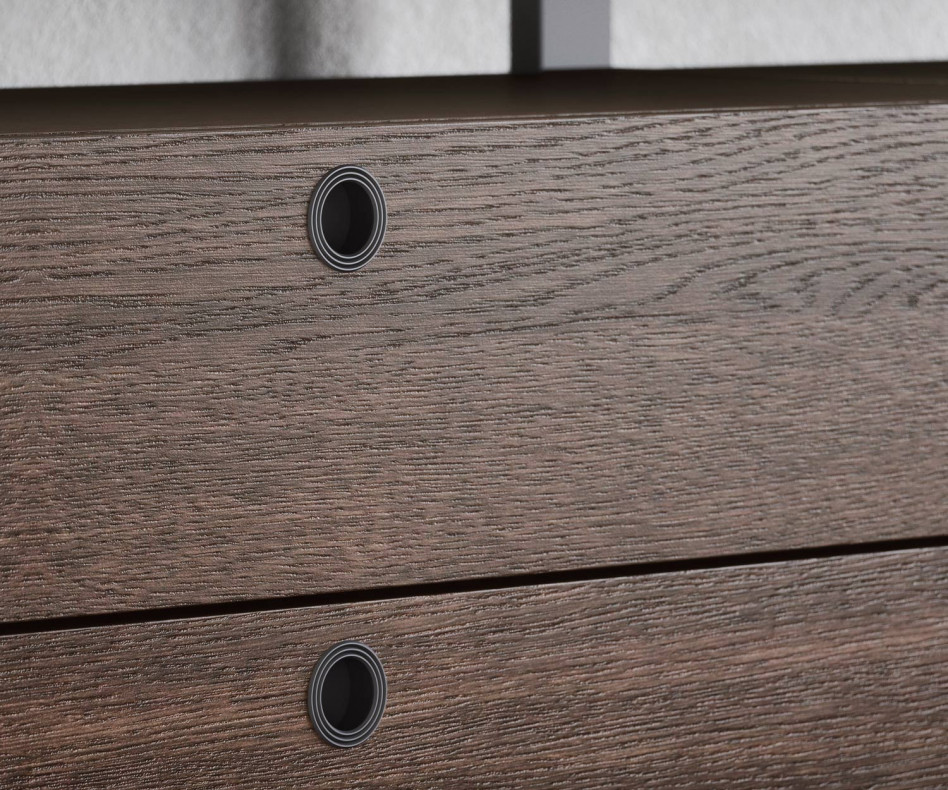 Exklusives Novamobili Design Metallregal Pontile Regalsystem