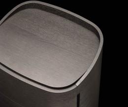 Detail Tischplatte Livitalia Round Designer Hochkommode
