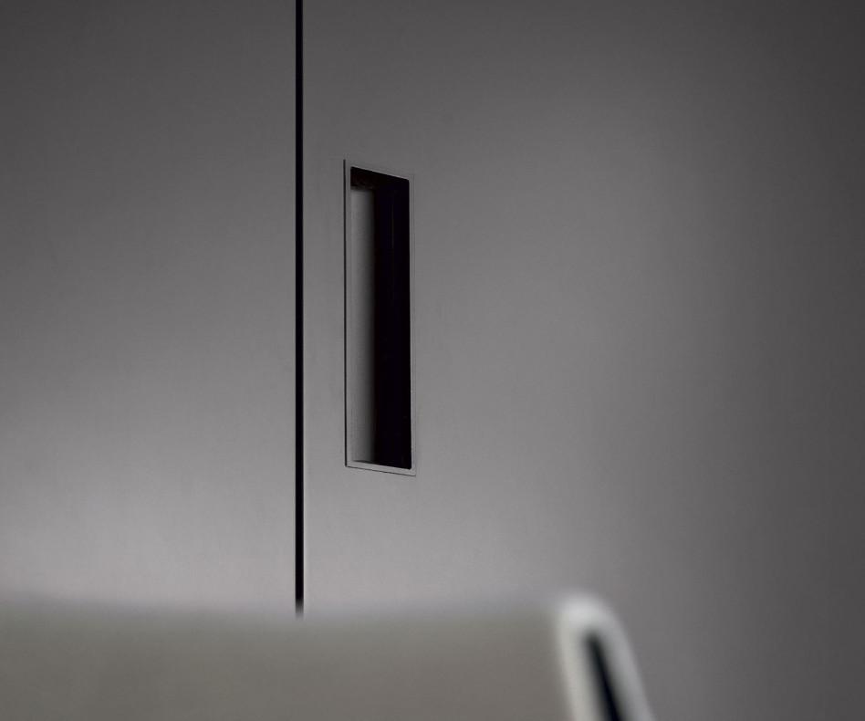 Exklusiver Novamobili Design Eckkleiderschrank Alfa YNCA