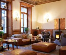 Modernes Prostoria Cloud Design Sofa im Wohnzimmer