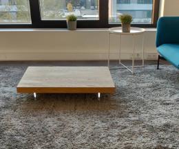 Moderner rechteckiger Livitalia Design Couchtisch Low schwebend