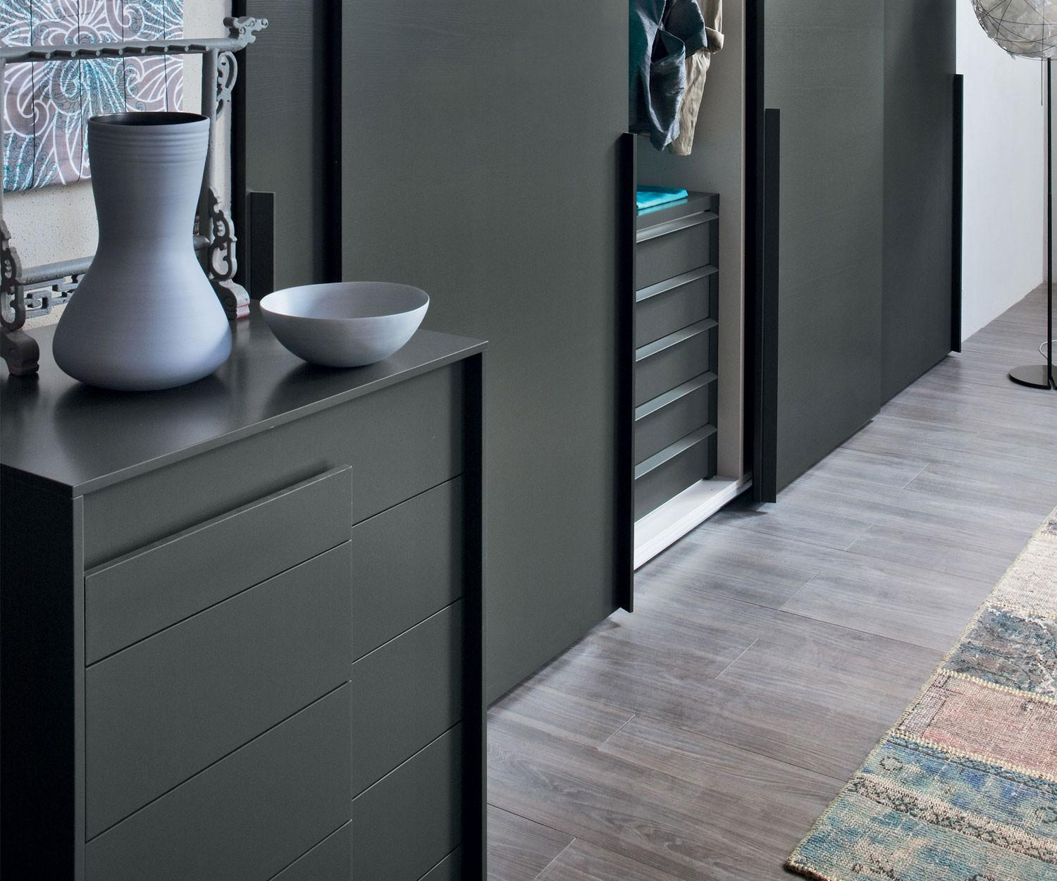 novamobili kommode overlap 6 schubladen designkommode. Black Bedroom Furniture Sets. Home Design Ideas