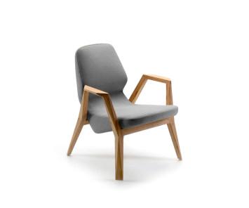 Prostoria Sessel Oblique mit Armlehnen