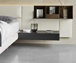 Hochwertiger Livitalia flacher Design Nachttisch Hängend