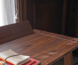 Punt Design Sekretär Ernest Walnuss Tischplatte