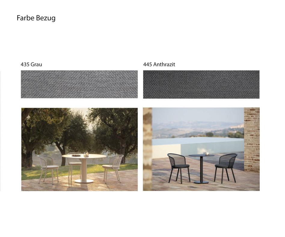 Modernes Todus Starling Design Gartensofa 3-Sitzer auf Dachterrasse