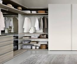 Hochwertiges Livitalia Panorama Design Ankleidezimmer offen geschlossen