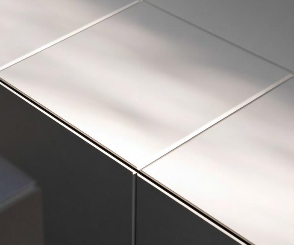 Modernes al2 Designer Highboard MOS-I-KO im Esszimmer in Weiß