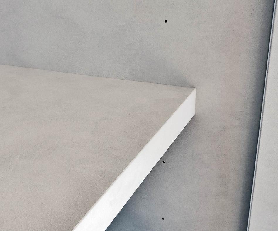 Exklusiver Livitalia Design Kleiderschrank Liscia Beton Spachtel Marmor Optik