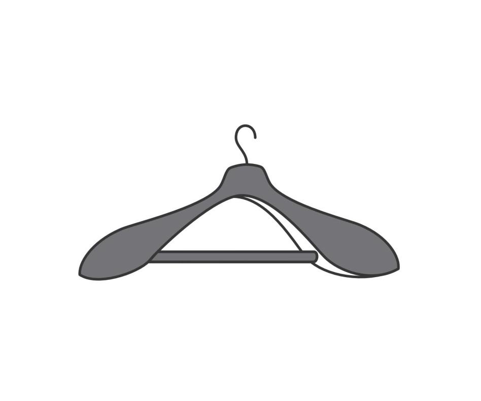 Exklusiver Novamobili Kleiderschrank-Zubehör Armadi Kleiderbügel