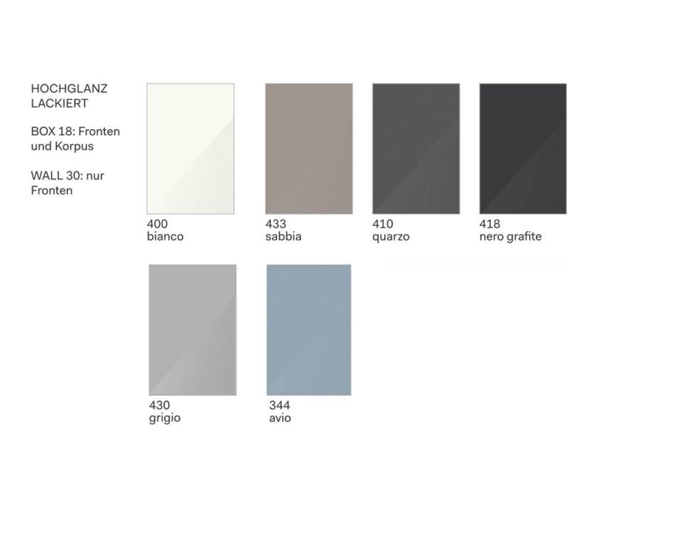 Moderner Design Kleiderschrank Novamobili Plisse Weiß