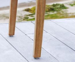 Hochwertiger Oasiq Skagen Design Stuhl Stuhlbeine im Detail