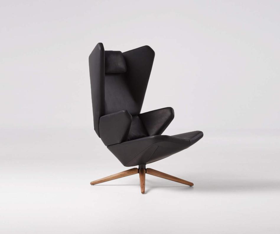 Exklusiver Prostoria Trifidae Design Ohrensessel & Lounger