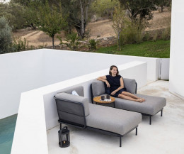 Modernes Todus Baza modulares Design Gartensofa