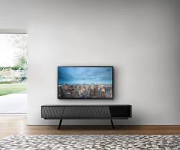 Modernes al2 e-klipse 008 Design Lowboard Füße Klapptür offenes Fach Schublade