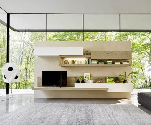 Livitalia Design Wohnwand C26