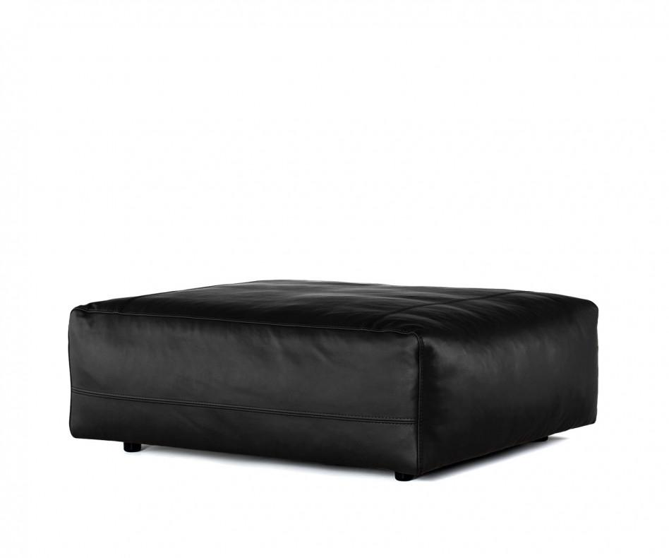prostoria leder pouf hocker cloud. Black Bedroom Furniture Sets. Home Design Ideas