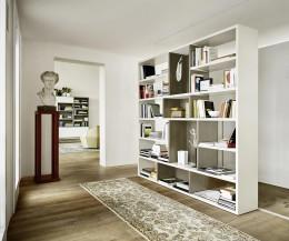 Hochwertiges Livitalia Design Raumteiler Bücherregal C87