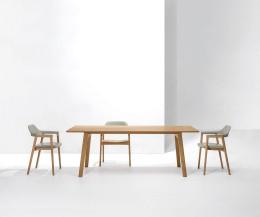 Moderner Conde House Ten Design Tisch mit fixierter oder ausziehbarer Tischplatte